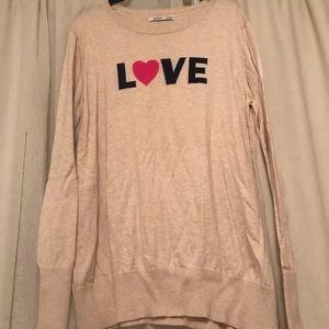Old Navy Valentine sweater